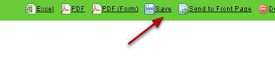 You can save these report properties (e.g Advanced, Field and Event settings) using the Save button and load up the report next time you require it.