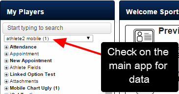 Previously when a user was deleted from the system, you had to check on the main application to determine whether the user had any data saved for them