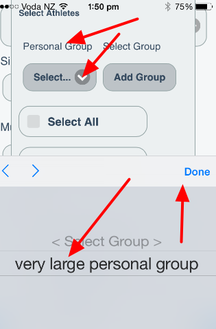 Load Personal Groups is available
