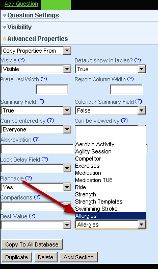 """Go to your Event Forms and add the database into a form by selecting the field 'database"""" on the form builder and then selecting the database you want to add into that form"""