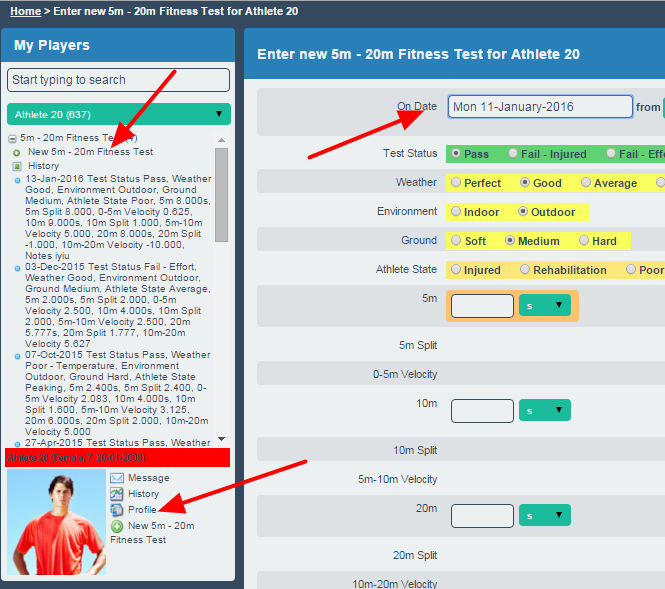 Previously a user could enter in data and while entering in data they could open the profile pages.