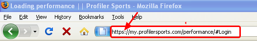 You will be given a unique website address, type it into your internet browser: