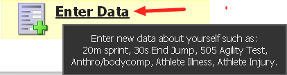 Entering Data