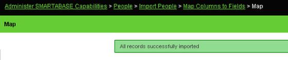 Import Success