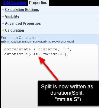 To use a duration field in a text equation you need to write the equation correctly, and format the duration field IN the text equation.