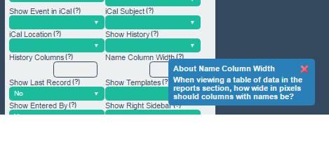 If you need to reduce the size, this is set on the Advanced Form Properties in the Name Width setting. It has to be set on a individual form by form basis