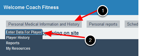 The Modules appear as drop downs in that Tab