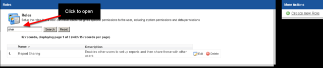 These capabilities are set up for each Role in the System Permissions