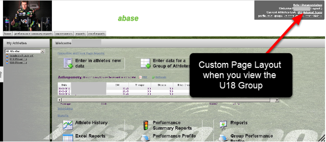 Regardless of the Page Layout's assigned to any Roles that a User may have, if the User loads a Group with a Page Layout assigned to it, the Group's Page layout will show.