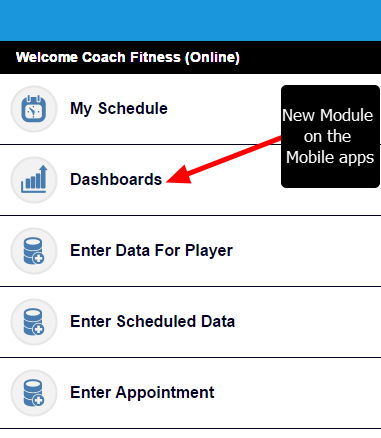 These Mobile Enabled Dashboards will now appear on the Dashboard Module on the Mobile Apps (e.g., iOS, Android and m.html)