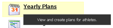 To create a Yearly Plan, click on the Yearly Plans Button