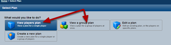 When you select to view a Yearly Plan you can now see the name of the user who created each plan