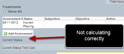 You ONLY need to write in option when there is a score assigned to the options that you are using the table option calculation.