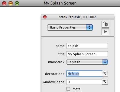 Configure Stack