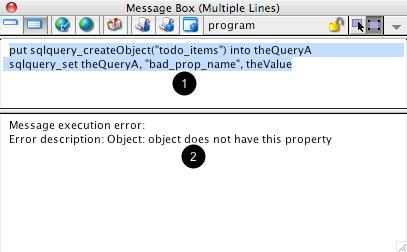 Default Message Box Behavior