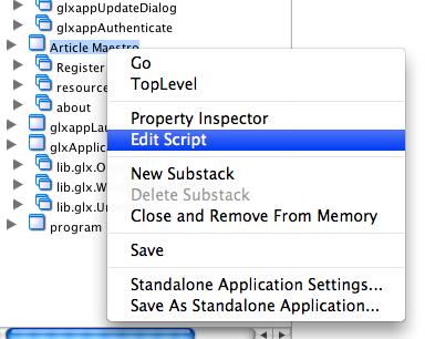 Edit Stack Script