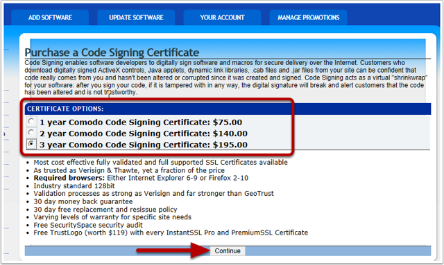 Specify How Long Your Certificate Will Be Valid