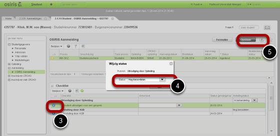 """Processtap status op """"Voorwaardelijk Afgehandeld"""" (deze stap is optioneel)"""