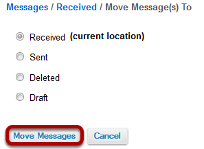 Click Move Messages.