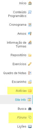 Exemplo: Barra de ferramentas com ferramentas ocultas da visualização do instrutor