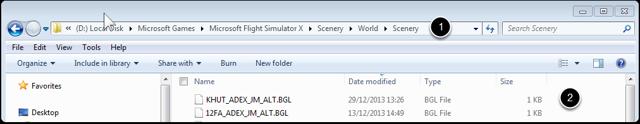 Check the Pre Load Bgl File