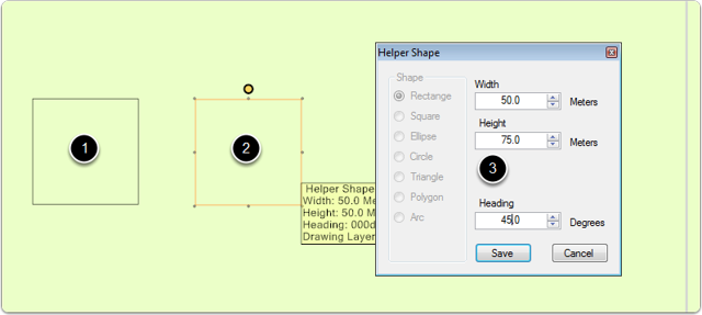 Edit Helper Shape