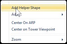 Create a Custom Ground Poly using a Helper Shape