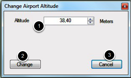 Set the new altitude