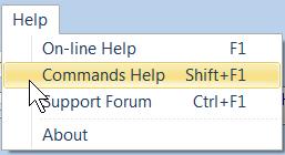 Commands Help