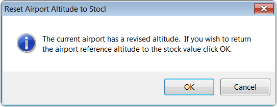 Stock airport