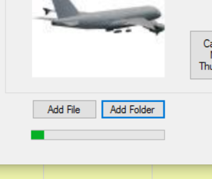 Processing the folders