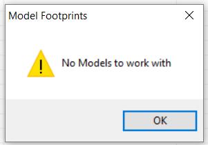 No models present