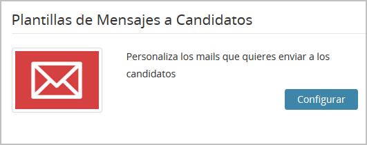 Plantilla de Mensaje a Candidatos