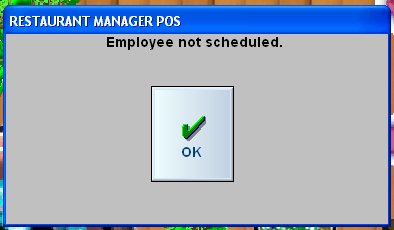 Staff Members Log In to Restaurant Manager