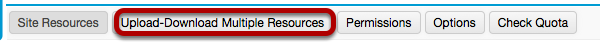 Click Upload / Download Multiple Resources.