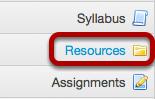 Go to Resources.