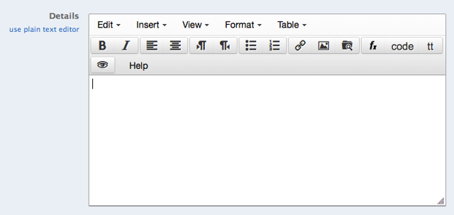 "Go to the Piazza Text Editor (Either by clicking ""New Post"" or clicking ""Edit"" on an existing post)."