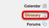 Go to Glossary.