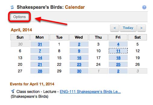4 - Calendar: