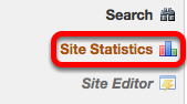 Go to Site Statistics.