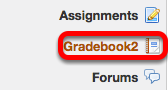 Go to Gradebook2.