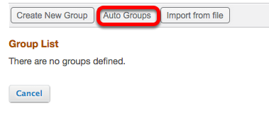 Click Autogroups.