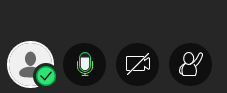 Image of the Collaborate interface showing audio sharing active.