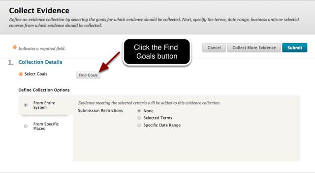 Step 2 - Find Goals