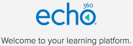 Echo 360 Active Learning Platform login image